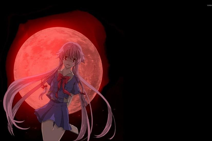 Yuno Gasai - Future Diary [7] wallpaper 1920x1200 jpg