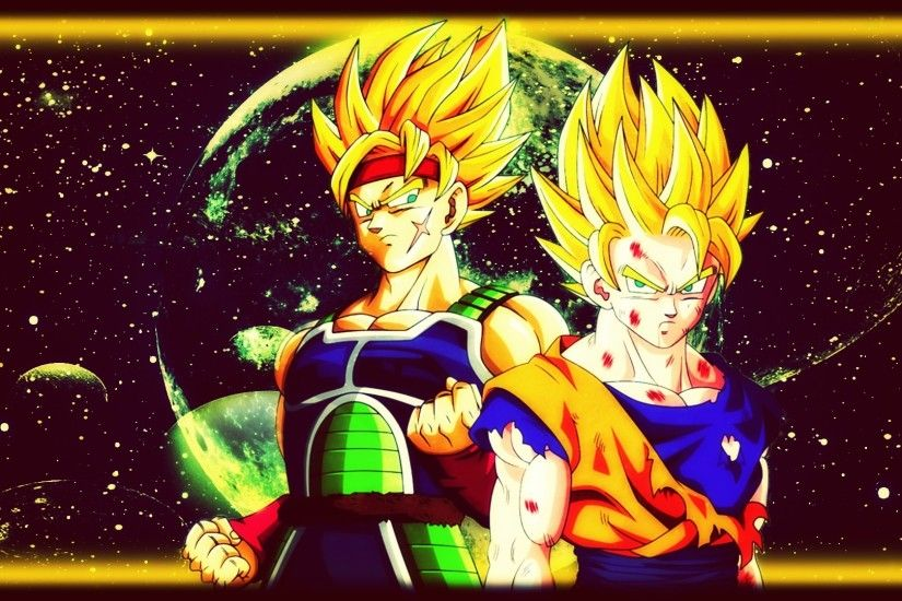 ... Bardock x Goku Wallpaper - @DBZ by Kingwallpaper