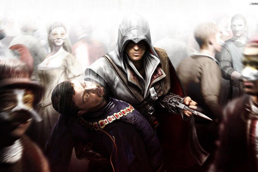 Image - Assassins creed brotherhood wallpaper 3c844.jpg | Assassin's Creed  Wiki | FANDOM powered by Wikia