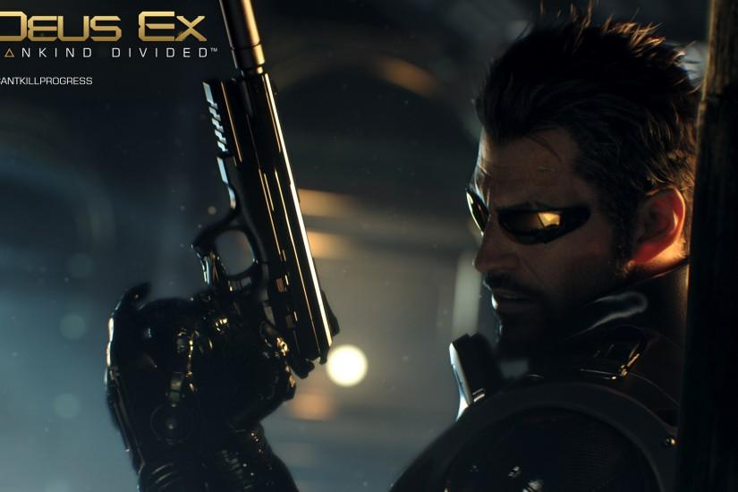 Adam Jensen Deus Ex: Mankind Divided · HD Wallpaper | Background ID:595811