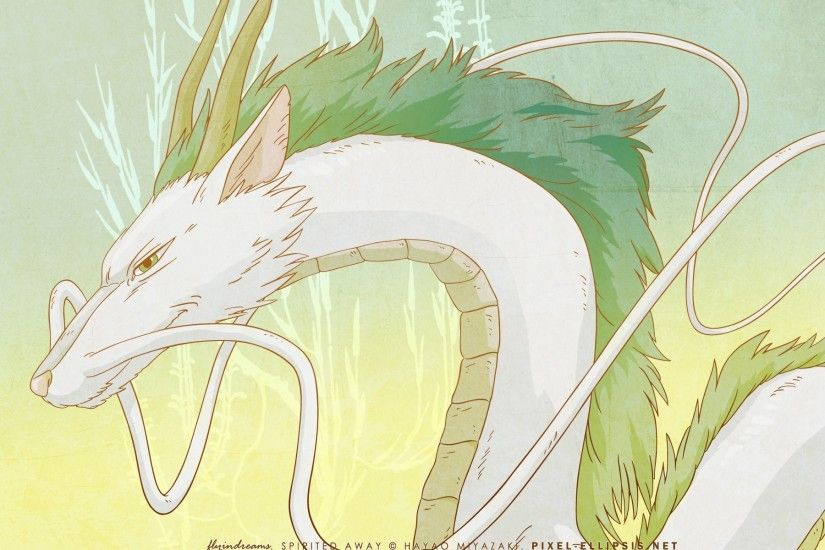 dragon, Spirited Away Wallpaper HD