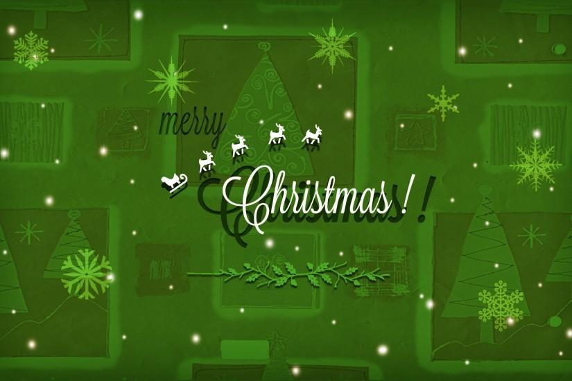 widescreen green christmas background 2560x1600
