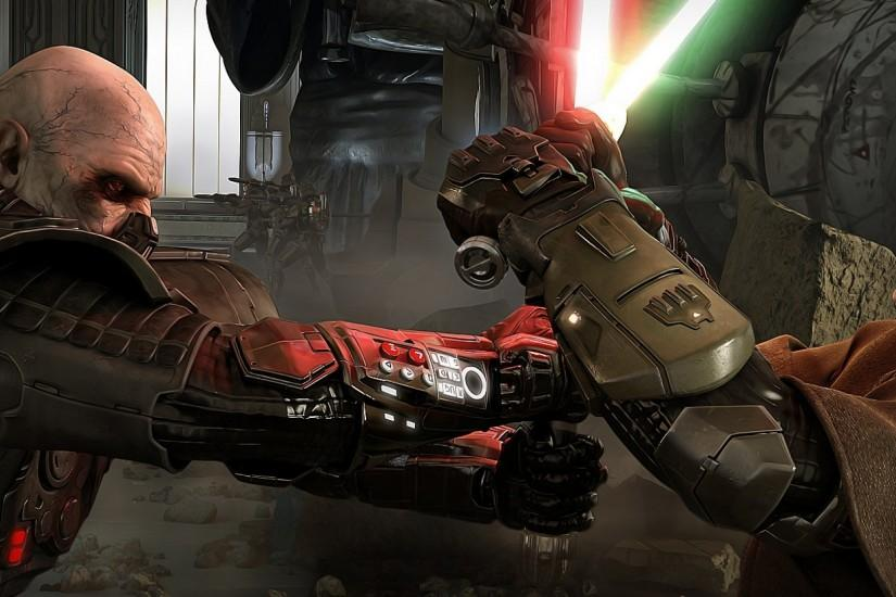 Preview wallpaper star wars the old republic, star wars, darth malgus  2560x1080