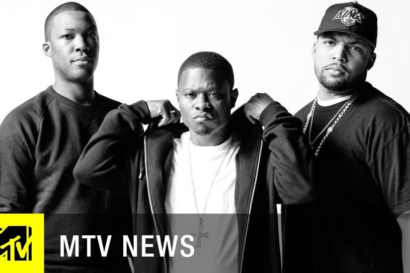 How Did The 'Straight Outta Compton' Cast Transform Into N.W.A.? | MTV News  - YouTube