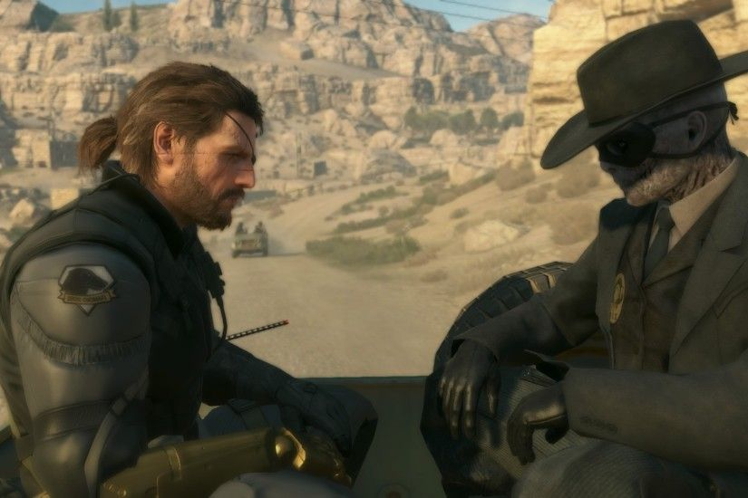metal gear solid v the phantom pain venom snake skull face