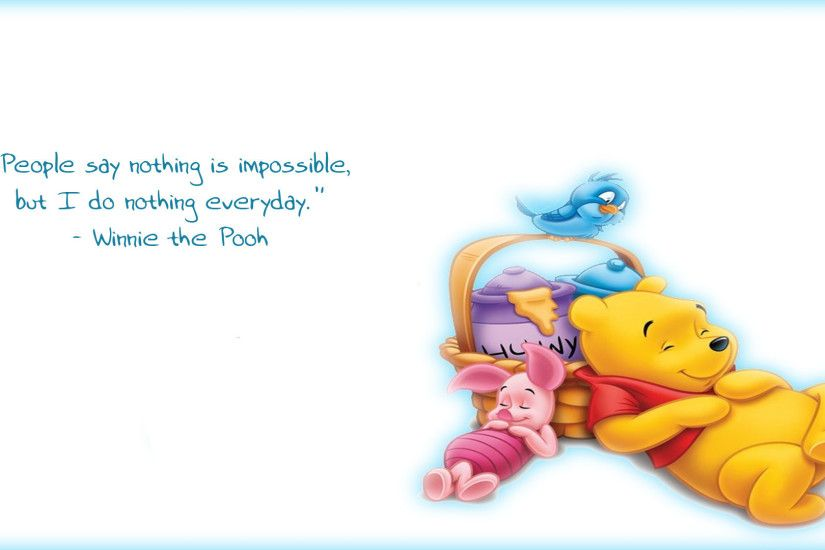 My newest background, Winnie the Pooh.