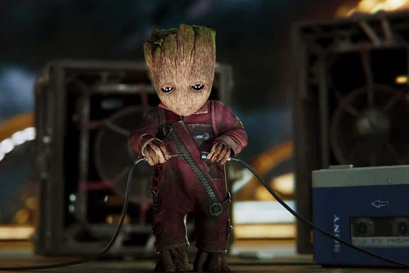 Baby Groot Guardians Of The Galaxy Vol. 2 Wallpaper 13720