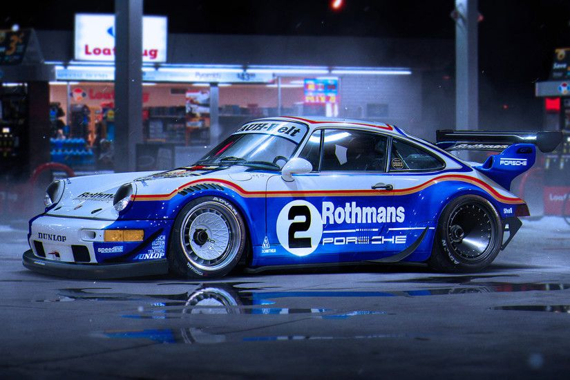 ... RWB Porsche 911 Turbo | Cars HD 4k Wallpapers ...
