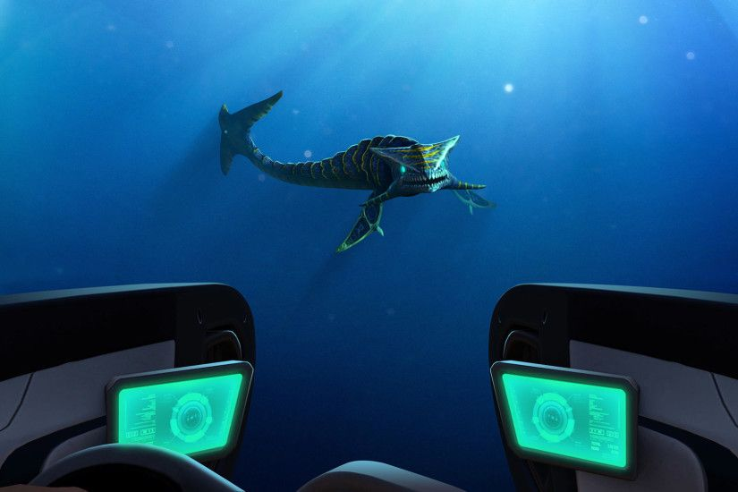 Subnautica Trading Card Wallpapers