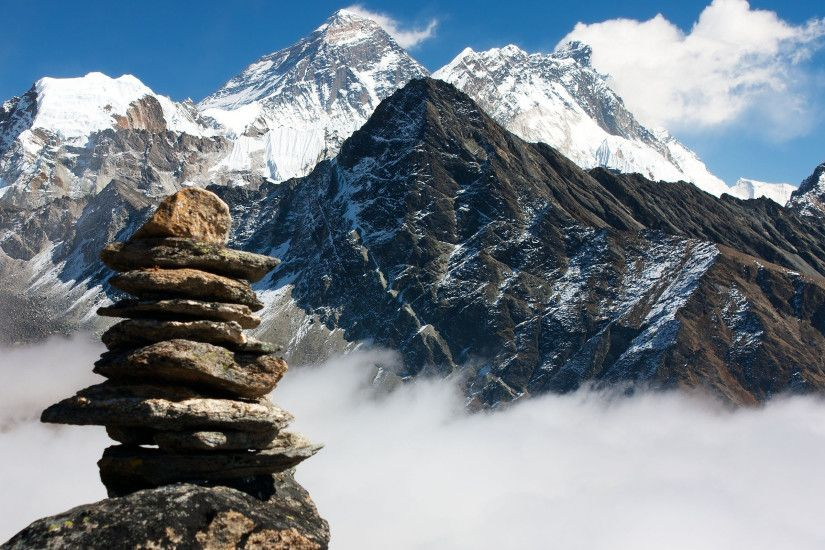 Chomolungma, Nepal, Mountain, The Himalayas, Everest