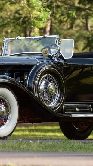 Preview wallpaper cadillac, vintage car, american car 1080x1920