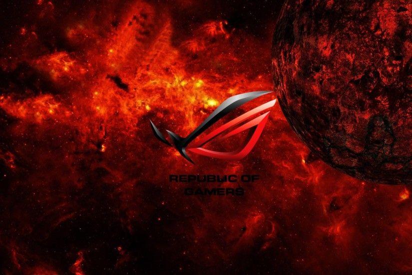 Asus Republic Of Gamers Wallpaper