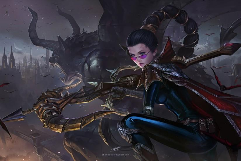 46 Vayne (League Of Legends) HD Wallpapers | Backgrounds .