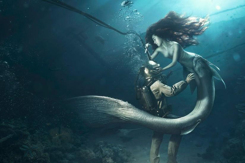 Diver and the Mermaid ...