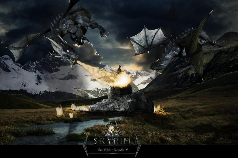 Superb Wallpapers Collection: Skyrim Desktop Wallpapers