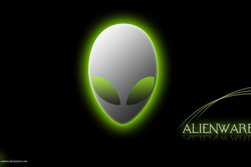 Rainbow Alienware Green by darkangelkrys on DeviantArt