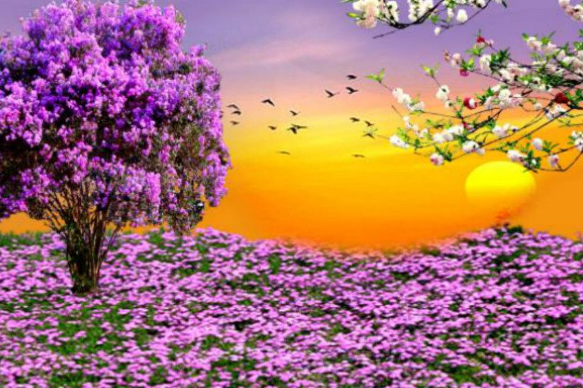 1920x1080 Spring Scenes Desktop Wallpapers - HD Wallpapers Backgrounds of  Your .