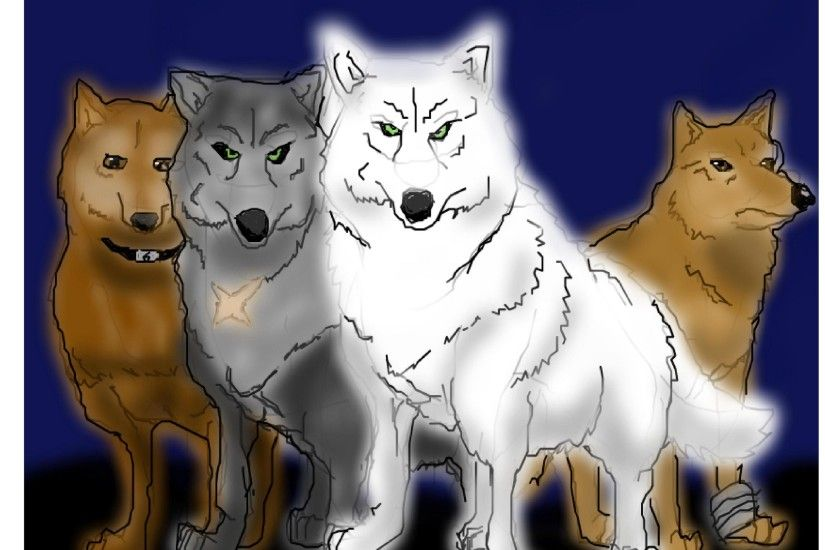 anime animal images wolf's rain HD wallpaper and background photos