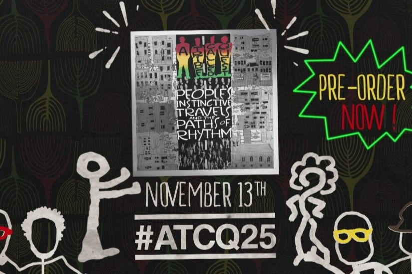 A Tribe Called Quest - #Atcq25 Remixers Announcement
