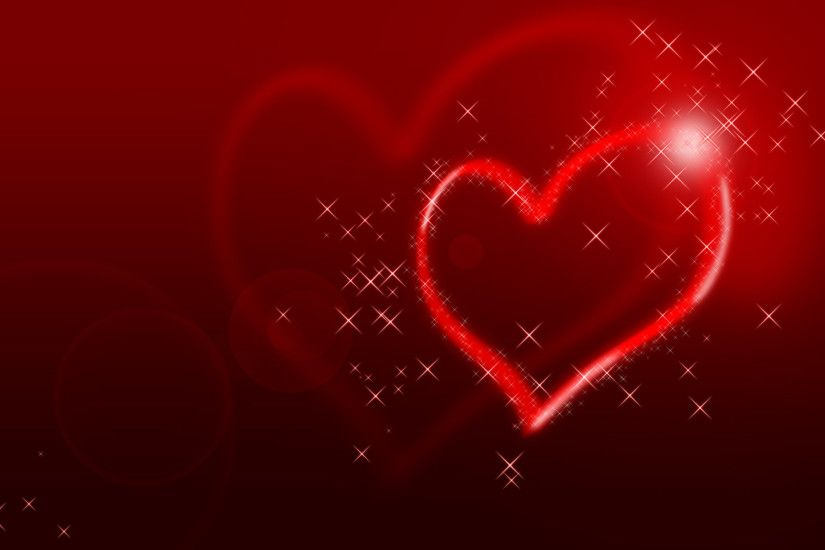 Glittering Heart Wallpapers | HD Wallpapers