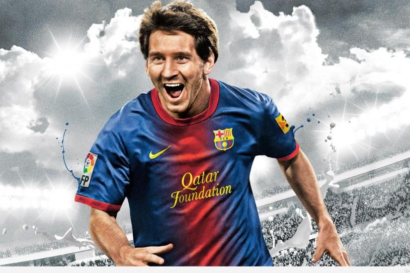 widescreen messi wallpaper 1920x1107