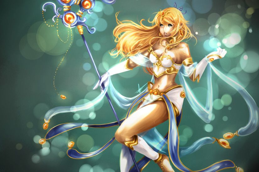 Janna Redesign by Hannah515 HD Wallpaper Fan Art Artwork League of Legends  lol