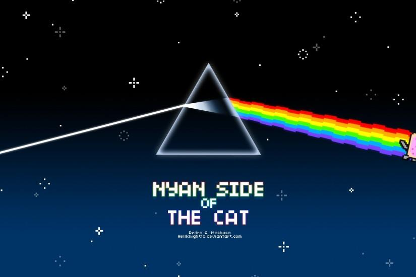 ... Nyan Side of The Cat by Hellknight10