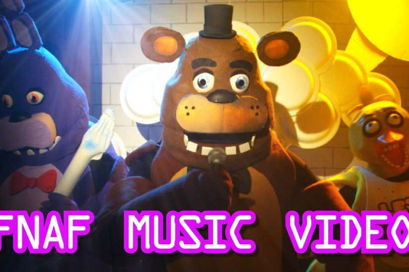 Five Nights At Freddys Live Action Music Video - FNAF Song for kids -  YouTube