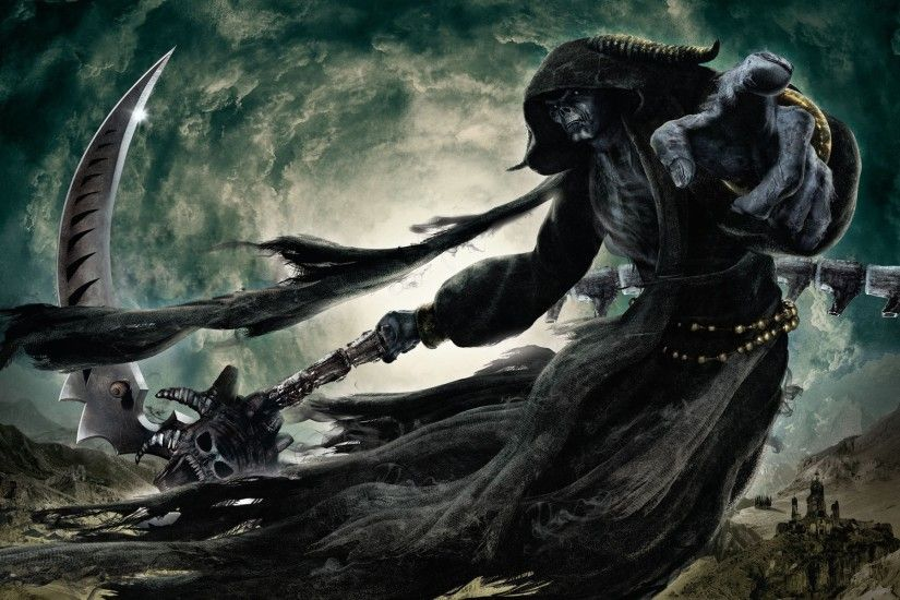 Dark - Grim Reaper Death Dark Wallpaper