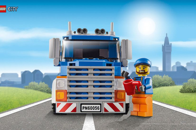 Wallpaper: LEGO City - Great Vehicle 2