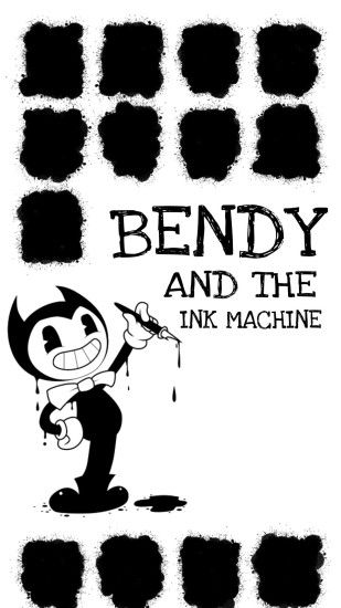 Bendy and the ink machine iPhone wallpaper 🖤🖋