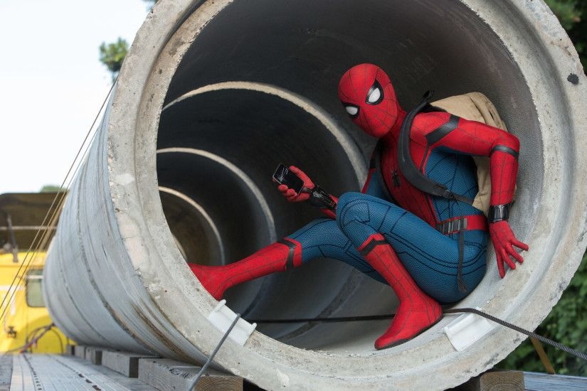 2017 Spider Man Homecoming Movie