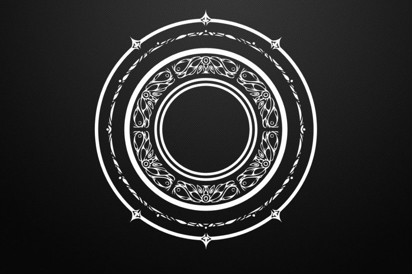 Arcane Black And White Circles Magic Mandala Tera Online