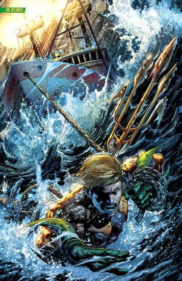 Amazing Aquaman artwork