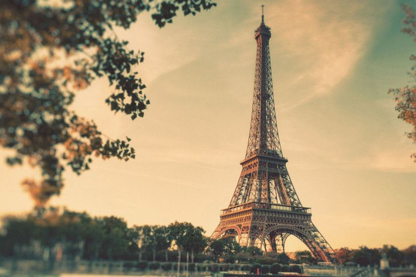 Vintage, Eiffel, Tower, Free, Desktop, Wallpaper, X, Desktop Images