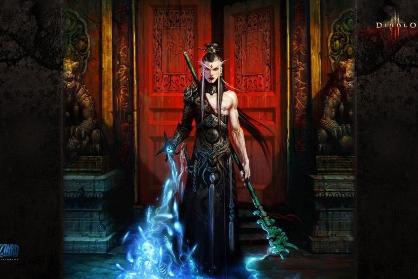 Video Game - Diablo III Wizard (Diablo III) Wallpaper