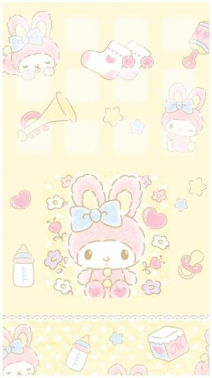 My Melody · Kawaii WallpaperDisney WallpaperSanrio ...