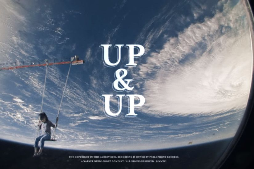 Coldplay's Up&Up new video propose interesting stills for wallpapers.