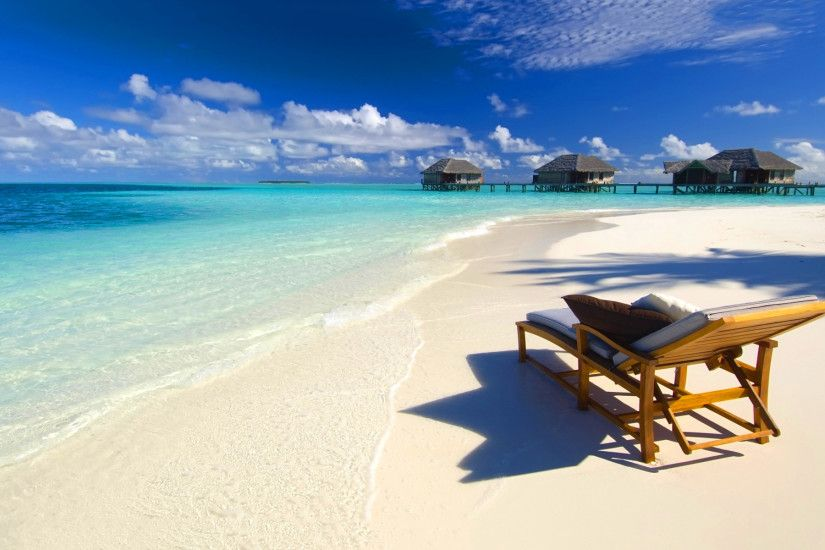 Beach Paradise Wallpaper - WallpaperSafari