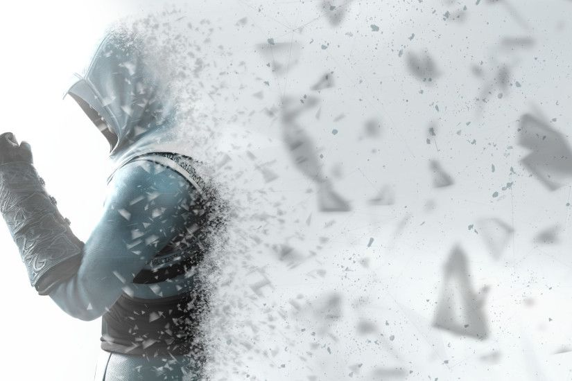 ... Assassin's Creed Wallpaper - Altair in shards by StramboZ