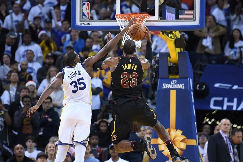 Durant's physical defense shuts down LeBron