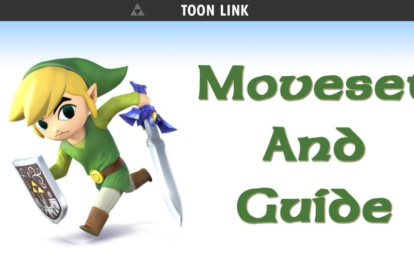 4 for Wii U & 3DS - Toon Link Guide & Moveset! - YouTube