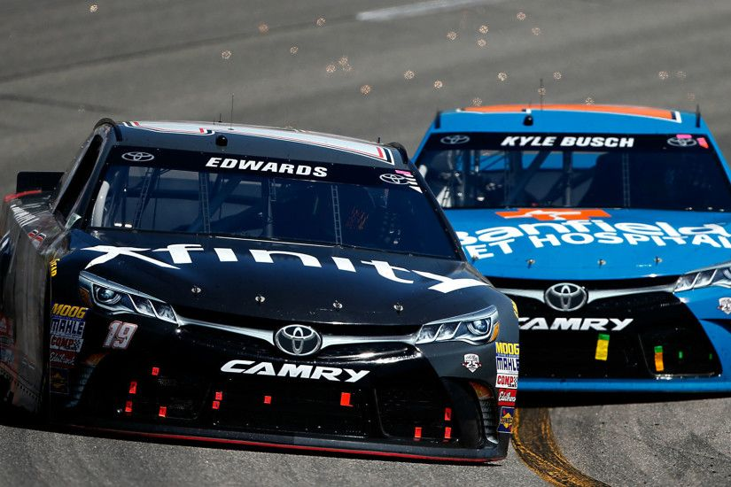 Carl Edwards' dramatic move saves NASCAR from another ugly mess | NASCAR |  Sporting News