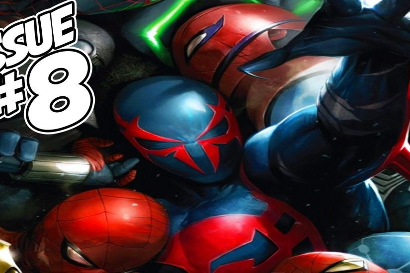 Spider-Man 2099 Issue #8 (Spider-Verse Tie-In) Full Comic Review, Giveaway  & WINNER!