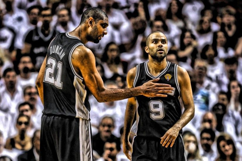 NBA, Tony Parker, Tim Duncan, San Antonio Spurs, Basketball Wallpapers HD /  Desktop and Mobile Backgrounds