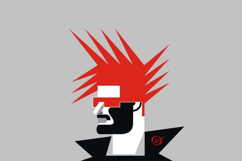 fantasy Art, Punk Rock, Punk, Red (character), Vectors, Vector Art,  Minimalism, Grand Cherokee Wallpapers HD / Desktop and Mobile Backgrounds