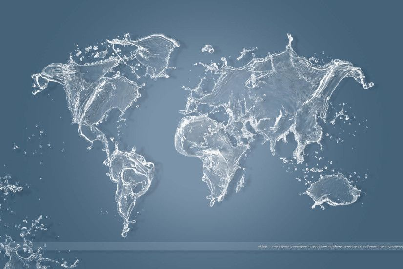 World Map Wallpapers For iPad