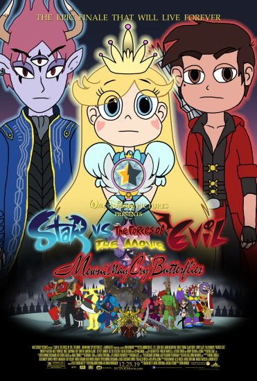 ... Star vs. the Forces of Evil - (Fake) Movie Poster by Crisostomo-