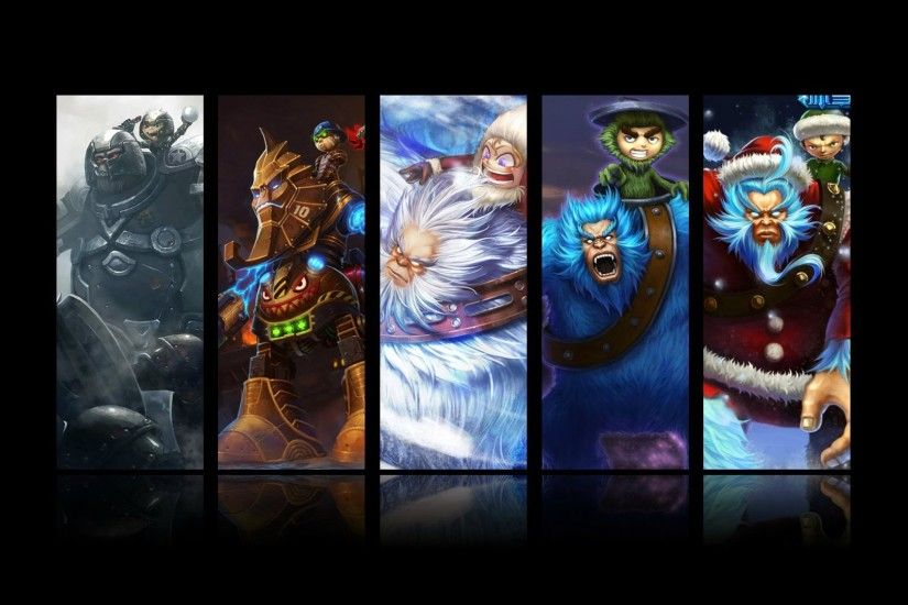 nunu all skin splash league of legends hd wallpaper
