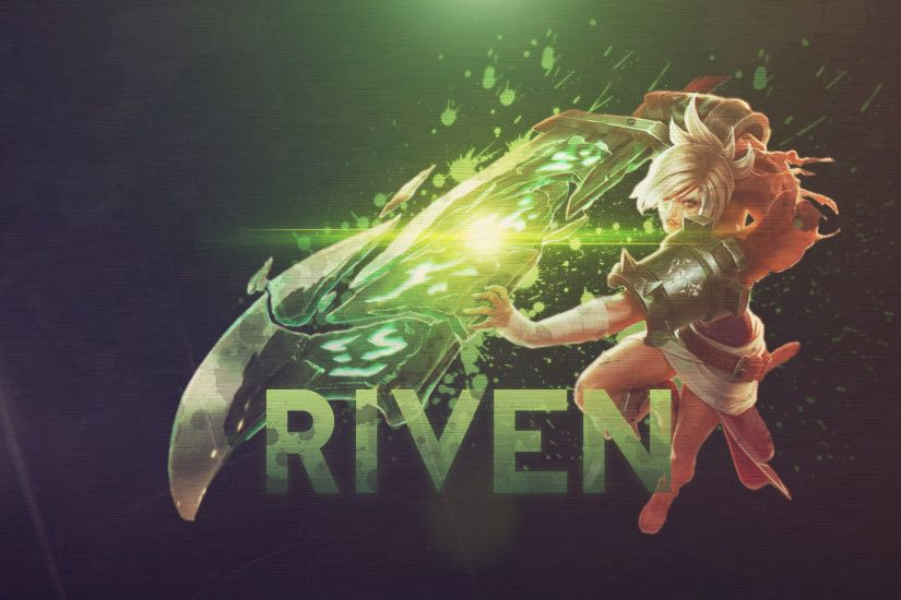 ... League of Legends Riven Animated Wallpaper - YouTube ...